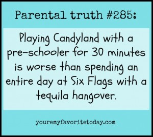 Parental Truth Candyland