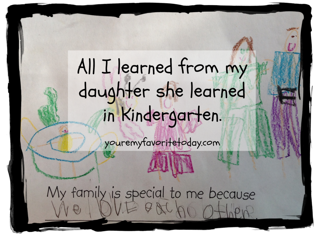 All I Learned from my Daughter