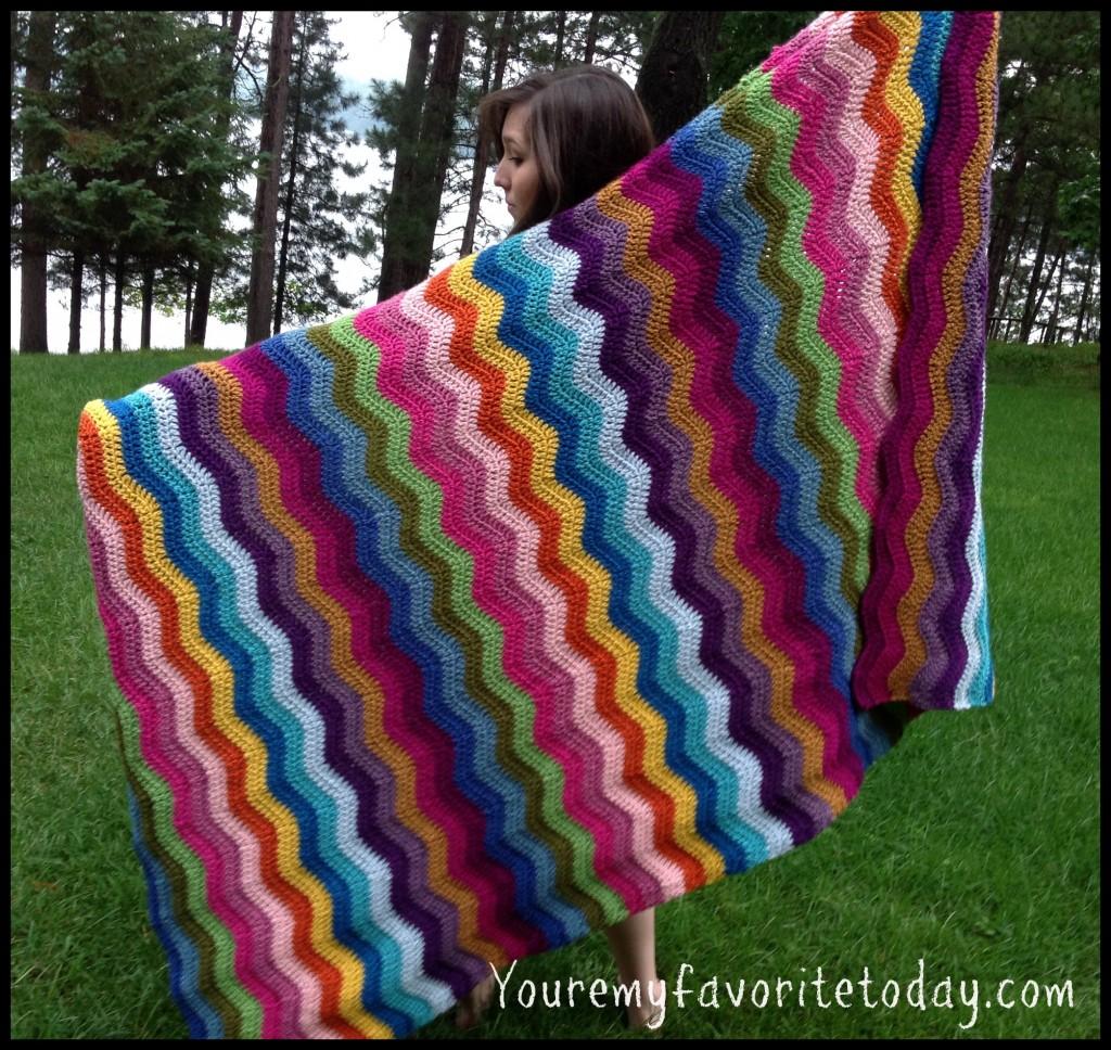 Ripple Blanket full length
