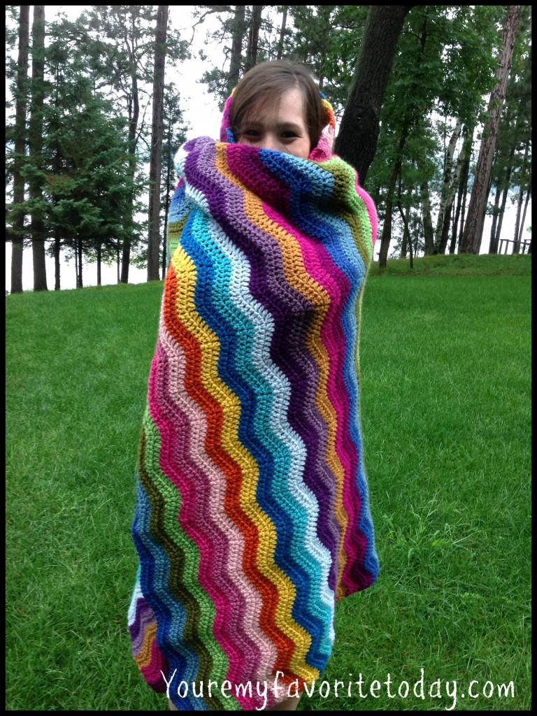Ripple Blanket hugs