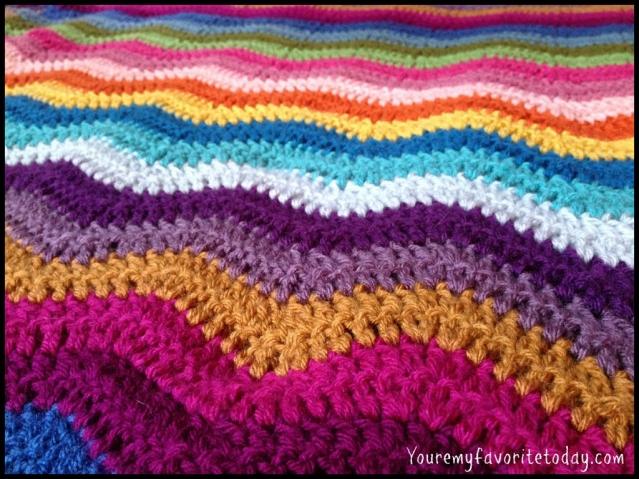 ripple blanket COLORS