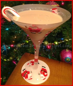peppermint chocotini