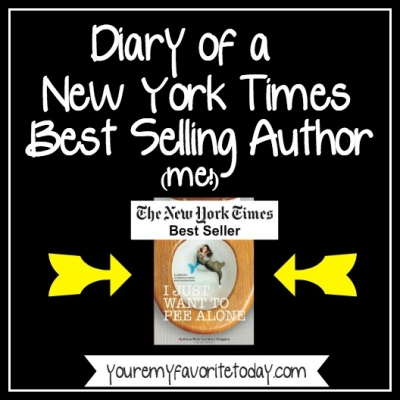 Diary of a NYT best selling author