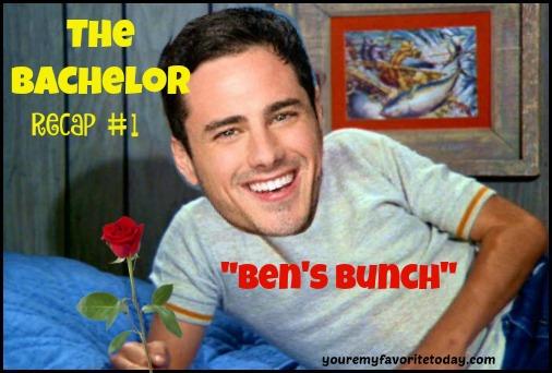 Bachelor Ben Recap #1