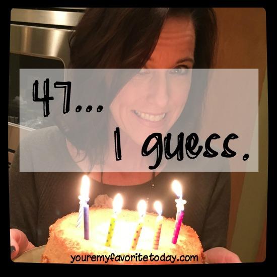 47 I guess