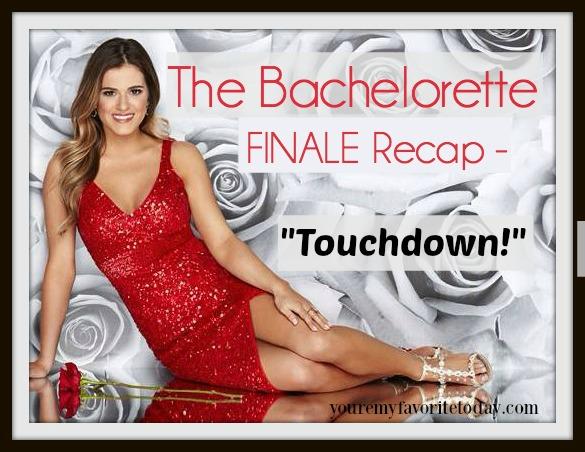 Bachelorette FINALE recap