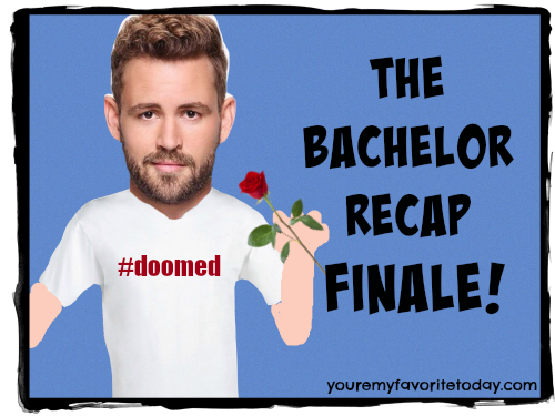 the bachelor finale recap