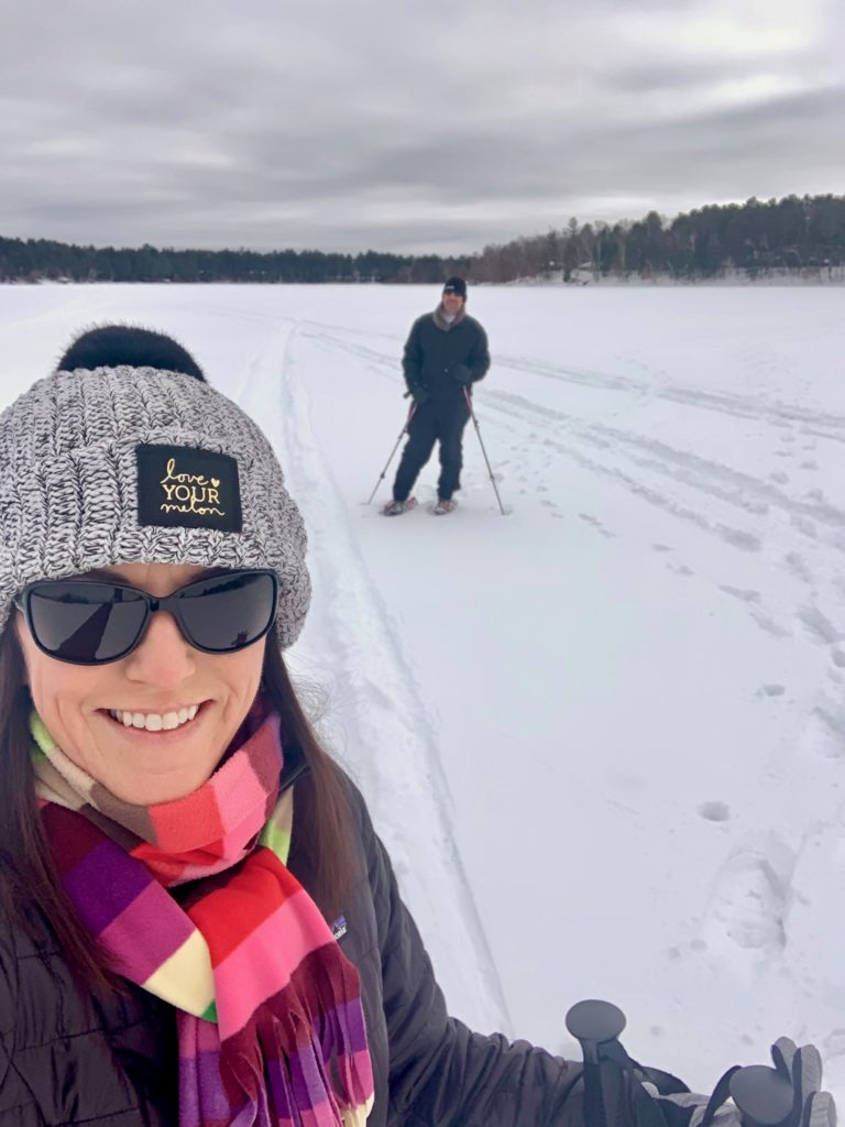 After 22 years in Minnesota, we finally tried snowshoeing!