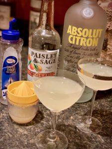 It's easy to make a Lemon Drop martini
